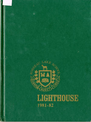 The Lighthouse  The Rosseau Lake School 1981-82
