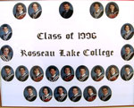 Class of 1996 Rosseau Lake College