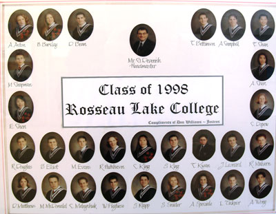 Class of 1998 Rosseau Lake College