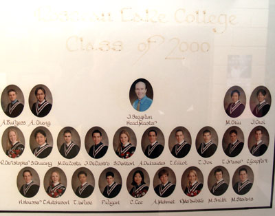 Class of 2000 Rosseau Lake College
