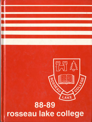 Rosseau Lake College Yearbook 1988-1989