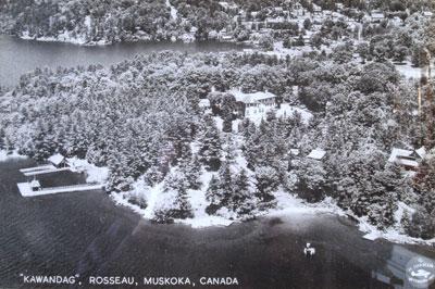 """""""KAWANDAG"""", ROSSEAU, MUSKOKA, CANADA"""