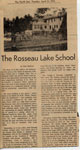 The Rosseau Lake School
