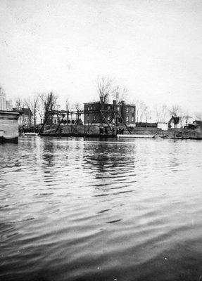 La crue des eaux (Embrun) en 1938.