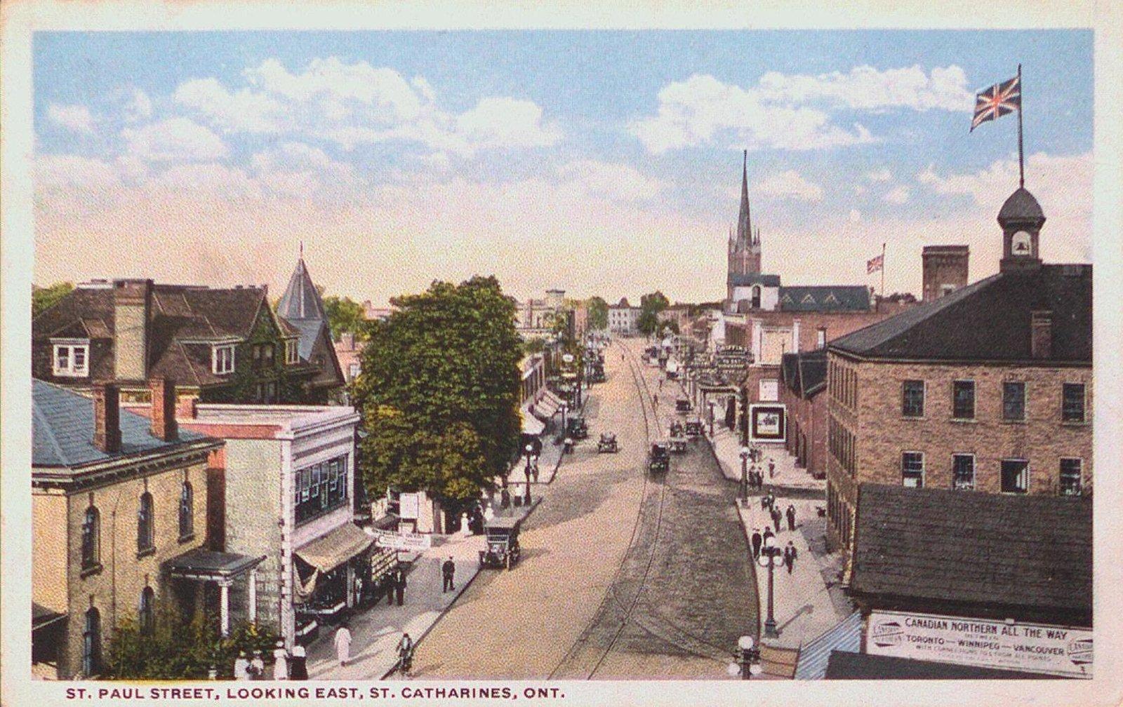 St. Paul Street, looking east