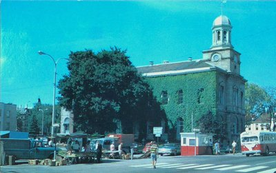 Market Square and the Court House at King and James Streets