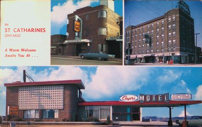 The Queensway Hotel, The Hotel Leonard and the Capri Motel