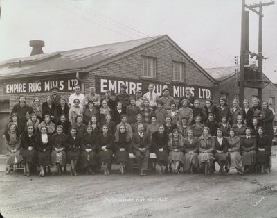 Empire Rug Mills Ltd., with Staff