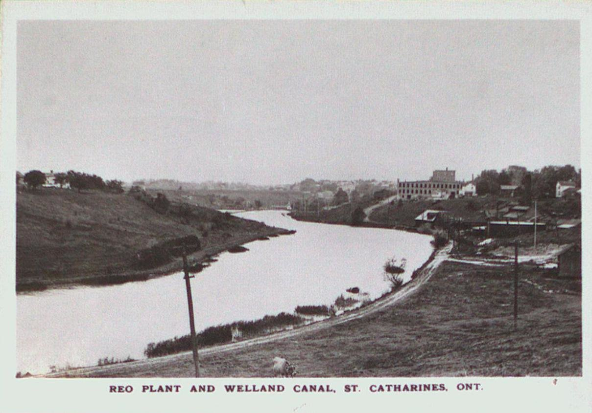 Reo Automobile Plant on the Welland Canal