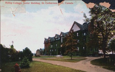 Ridley College, Junior Building