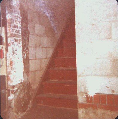 The Stairs that led to the Bathing Rooms at The Welland House