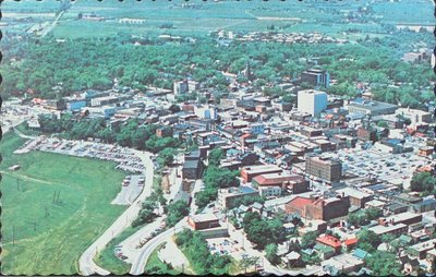 An Aerial View of St. Catharines