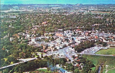 Aerial View of St. Catharines