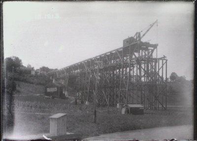 Burgoyne Bridge Under Construction