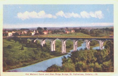 Glenridge Bridge and the Old Welland Canal