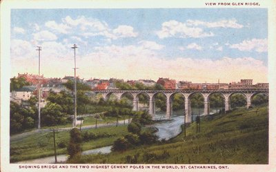 Glenridge Bridge and the Two Highest Cement Poles in the World