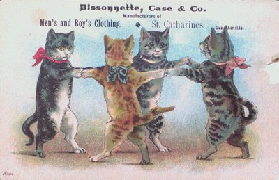 Bissonnette Case & Co. Advertising Postcard