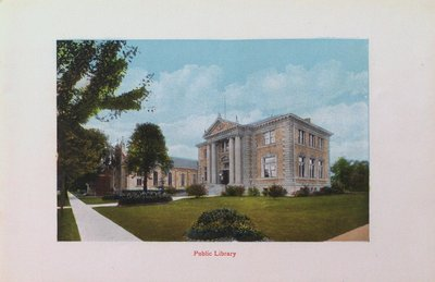 Souvenir of St. Catharines: Public Library
