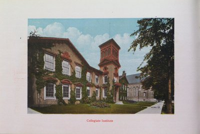 Souvenir of St. Catharines: Collegiate Institute