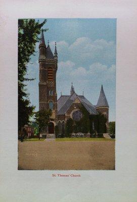 Souvenir of St. Catharines: St. Thomas Church
