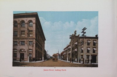 Souvenir of St. Catharines: James Street Looking North