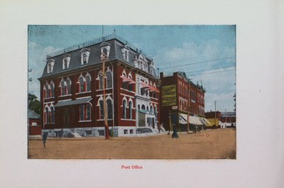 Souvenir of St. Catharines: The Post Office