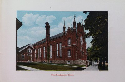 Souvenir of St. Catharines: First Presbyterian Church