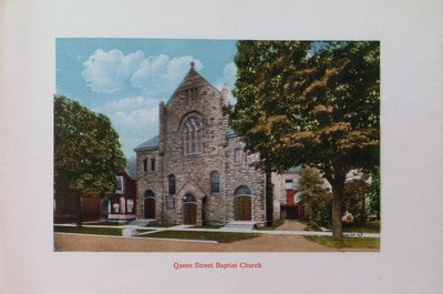 Souvenir of St. Catharines: Queen Street Baptist Church