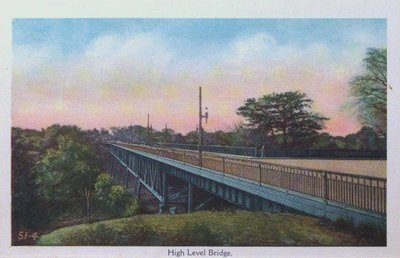 Souvenir view of St. Catharines & Port Dalhousie: High Level Bridge