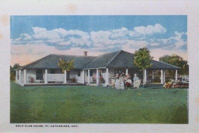 Souvenir Folder of St. Catharines: Golf Club House
