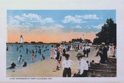 Souvenir Folder of St. Catharines: The Beach at Port Dalhousie