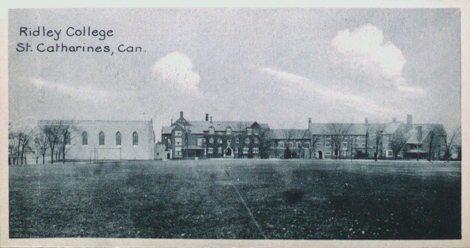 Souvenir of St. Catharines Postcards: Ridley College