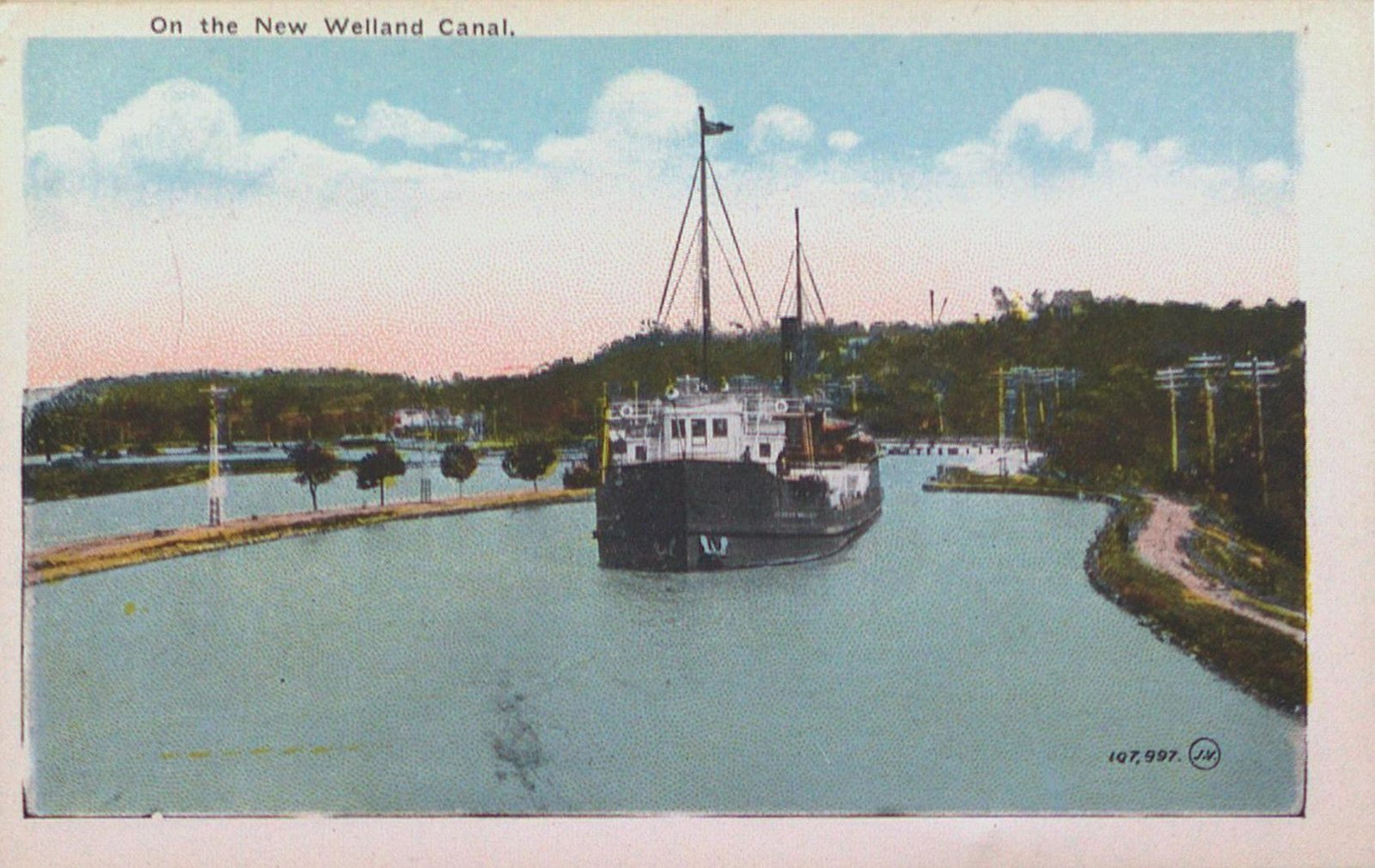 Views of St. Catharines: The New Welland Canal