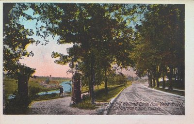 Views of St. Catharines: Old Welland Canal from Yates Street