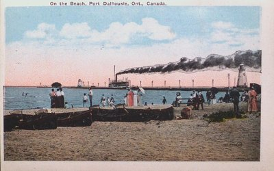 Views of St. Catharines: The Beach at Port Dalhousie
