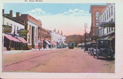 Views of St. Catharines: St. Paul Street