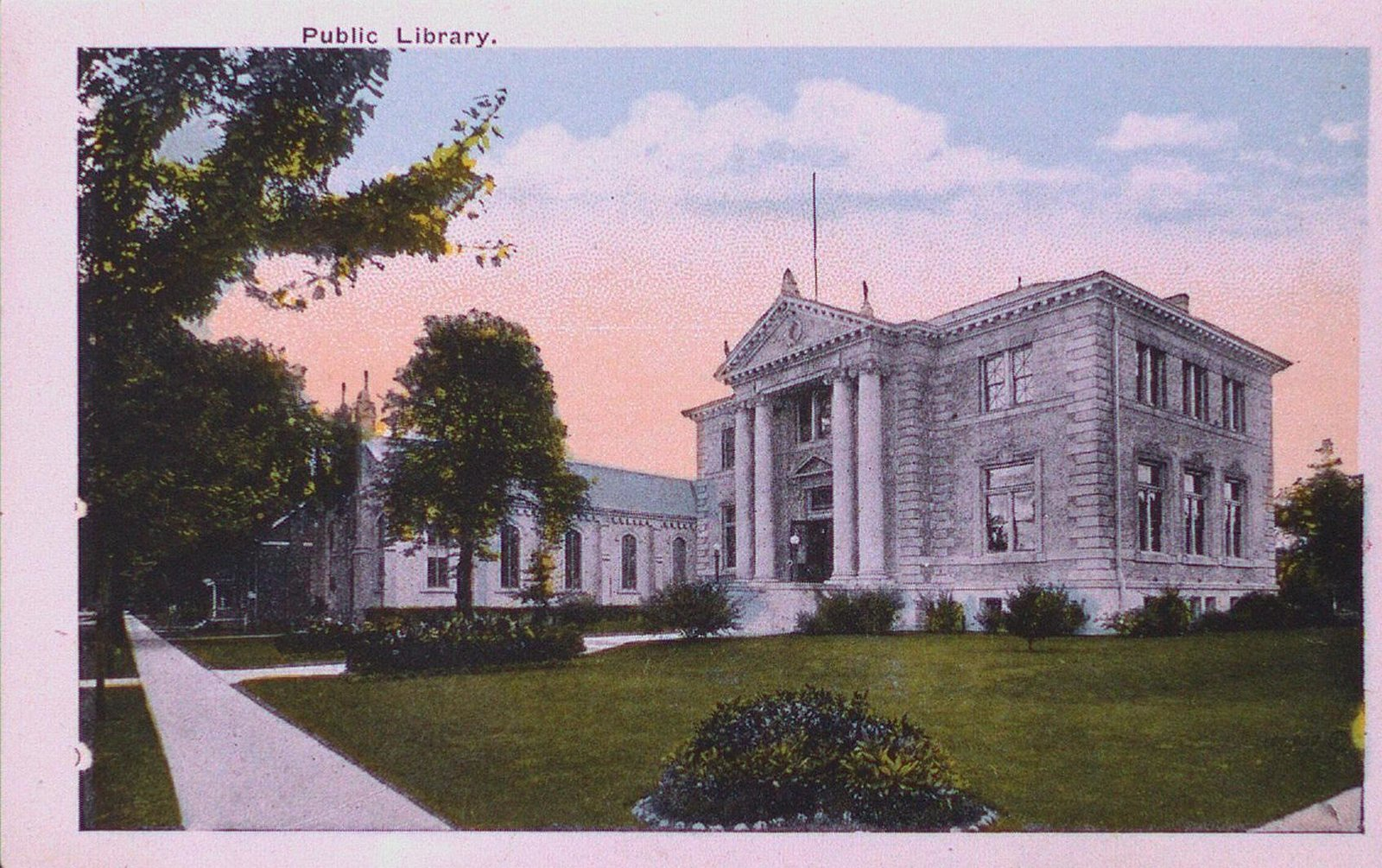 Views of St. Catharines: The Public Library