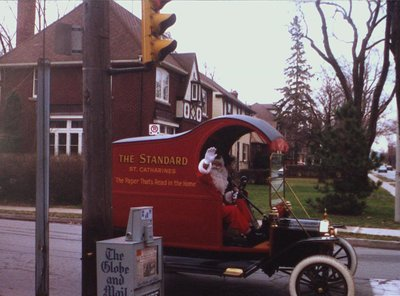 """The """"Standard"""" The Standard Santa"""" at the Glenridge Avenue and Rockcliffe Road Intersection"""