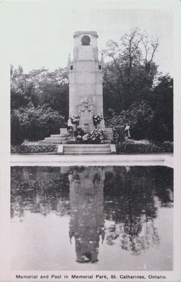 War Memorial and Pool