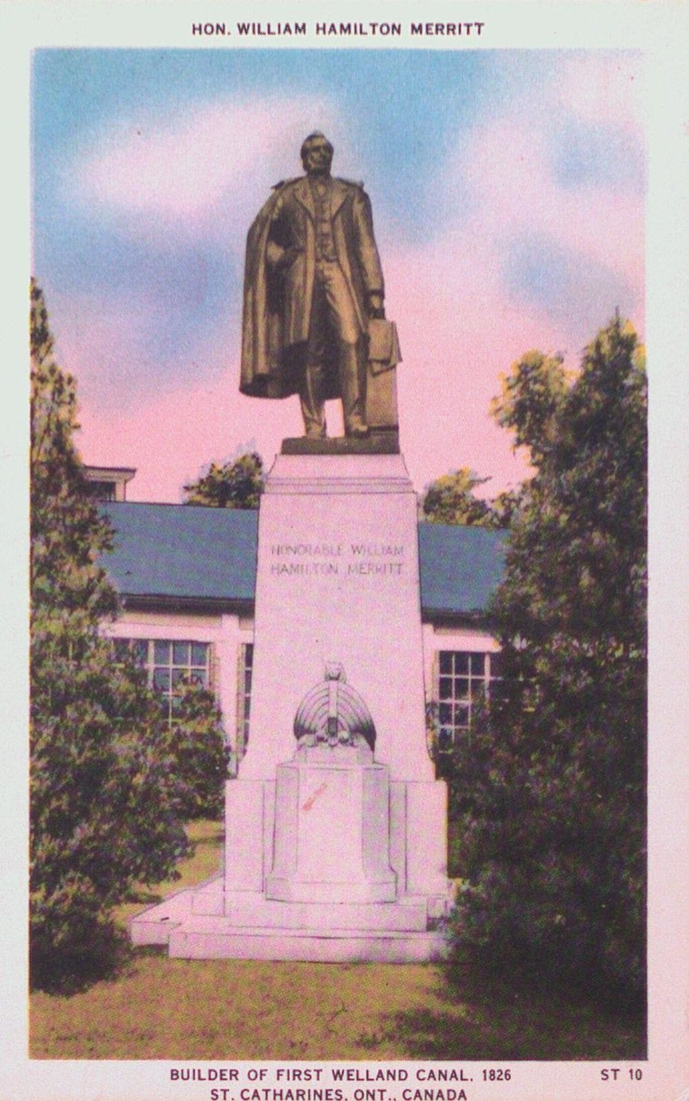 William Hamilton Merritt Monument