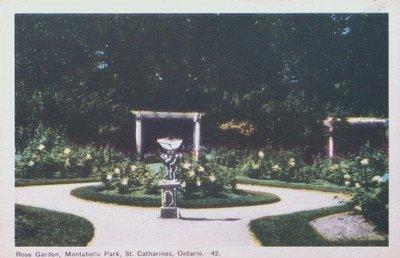 The Rose Garden at Montebello Park