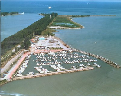 Aerial View of the Port Weller Marina