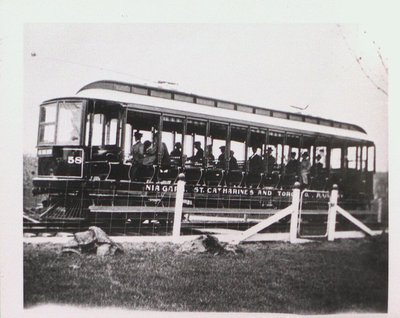 A Niagara, St. Catharines and Toronto Railway Street Car