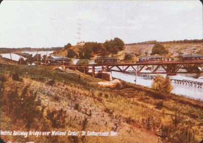Electric Railway Bridge over the Welland Canal