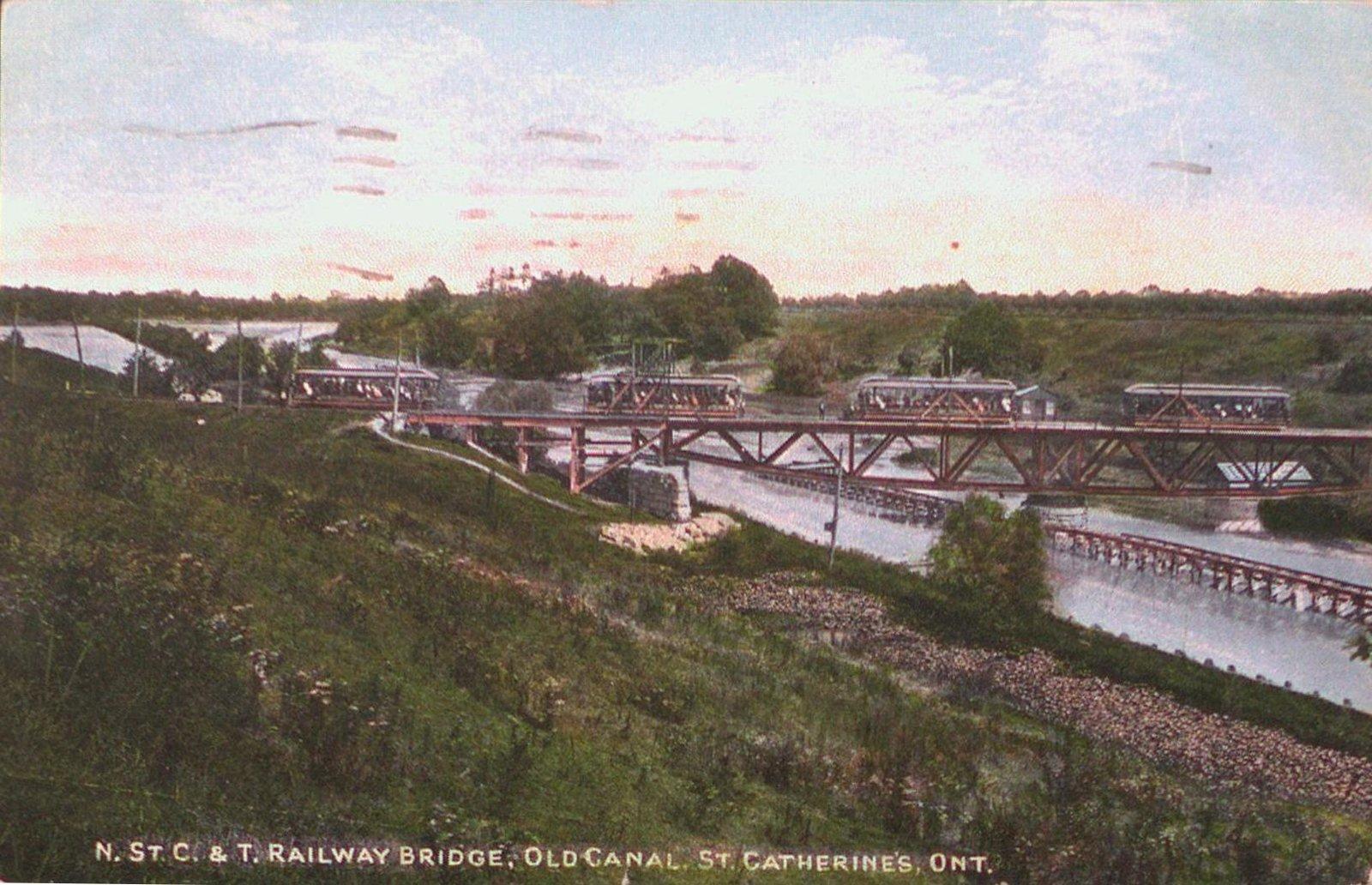 Niagara, St. Catharines, & Toronto Railway Bridge over the Old Canal