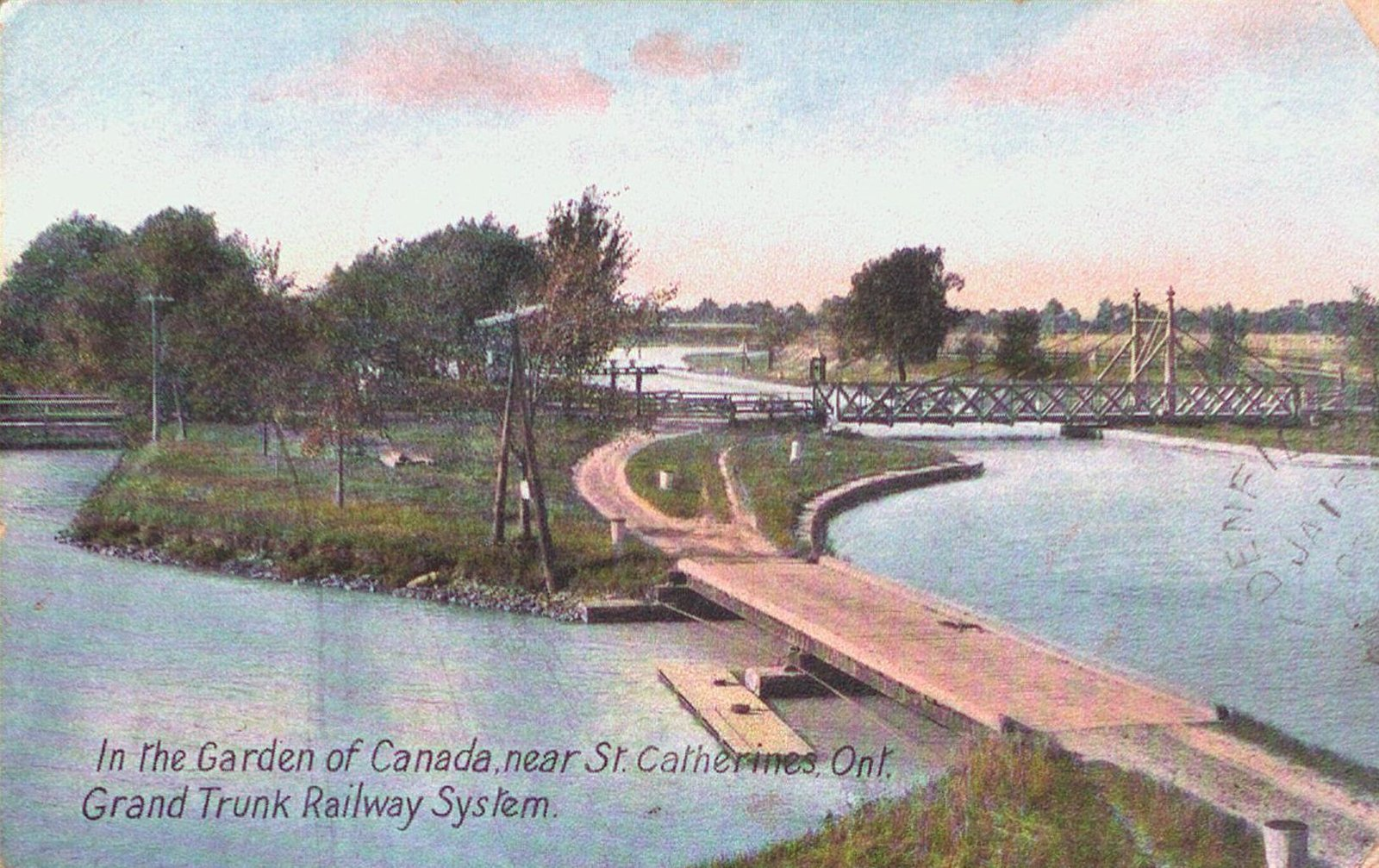 Grand Trunk Railway System near St. Catharines