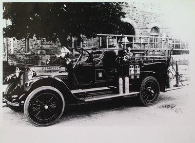 Merritton Fire Department Fire Truck