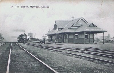 G.T.R. (Grand Trunk Railway) Station, Merritton.