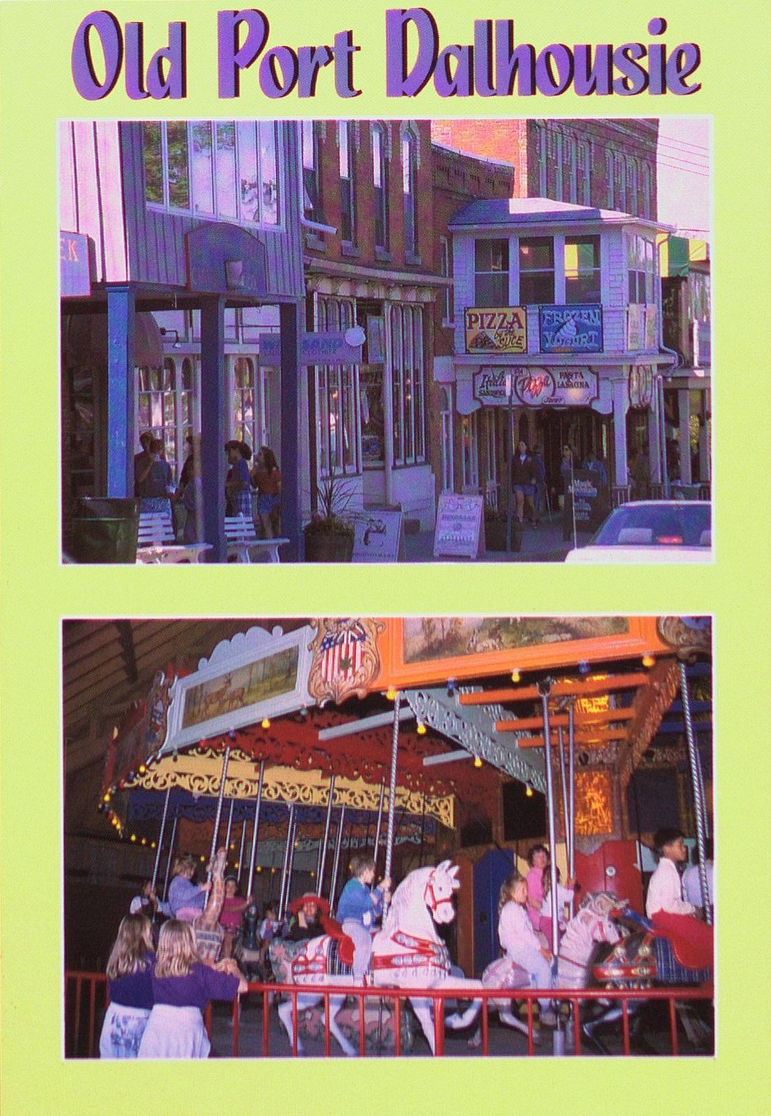 Old Port Dalhousie and the Carousel