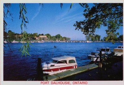 The Dalhousie Yacht Club at Port Dalhousie